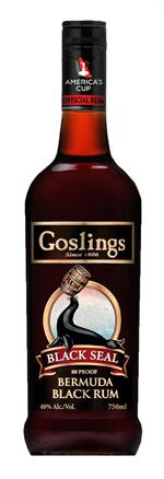 Gosling Black Seal Dark Rum 40% 70cl.