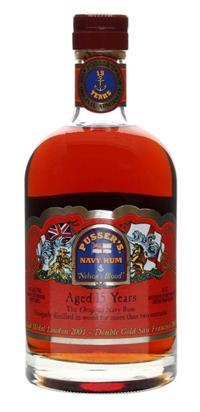 Pussers Navy rum 15 år Nelson\'s Blood 70 cl.