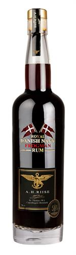 A.H. Riise Frogman Royal Danish Rum 58%
