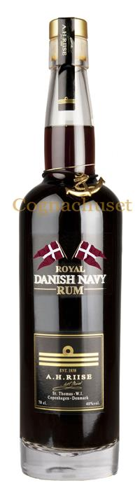 A.H. Riise Danish Navy rum 55%