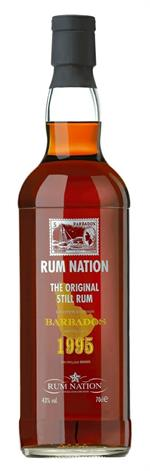 Rum Nation Barbados -1995 70cl.