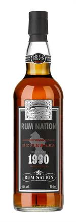 Rum Nation - Demerara 1990 23 år (1990-2014) Specially Selected 45%