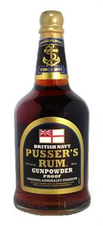 Pusser's Rum Gunpowder Proof 54,5%
