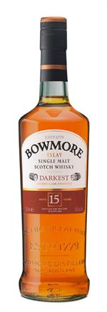 Bowmore 15 års Darkest Sherry Cask 43%