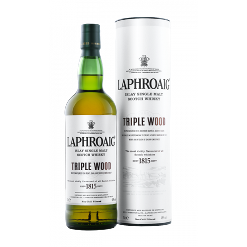 Laphroaig Triple wood, 0,7 l, 48%